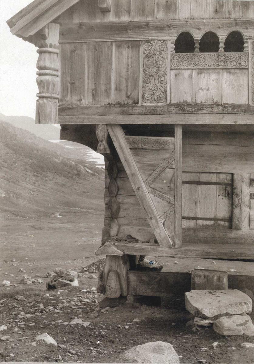 Stabbur,Torvetjønn, Vinje, Telemark.