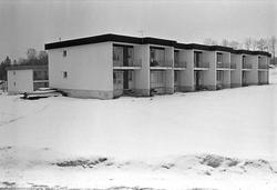 Serie. Søsterbolig til ansatte på Bærum sykehus, Akershus. F