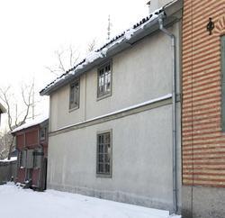 Uthus til Rådhusgata 7, Oslo. Hans Nielsen Hauge satt fengsl