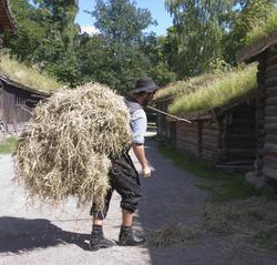 Setesdalstunet på Norsk Folkemuseum, august 2010. Formidling
