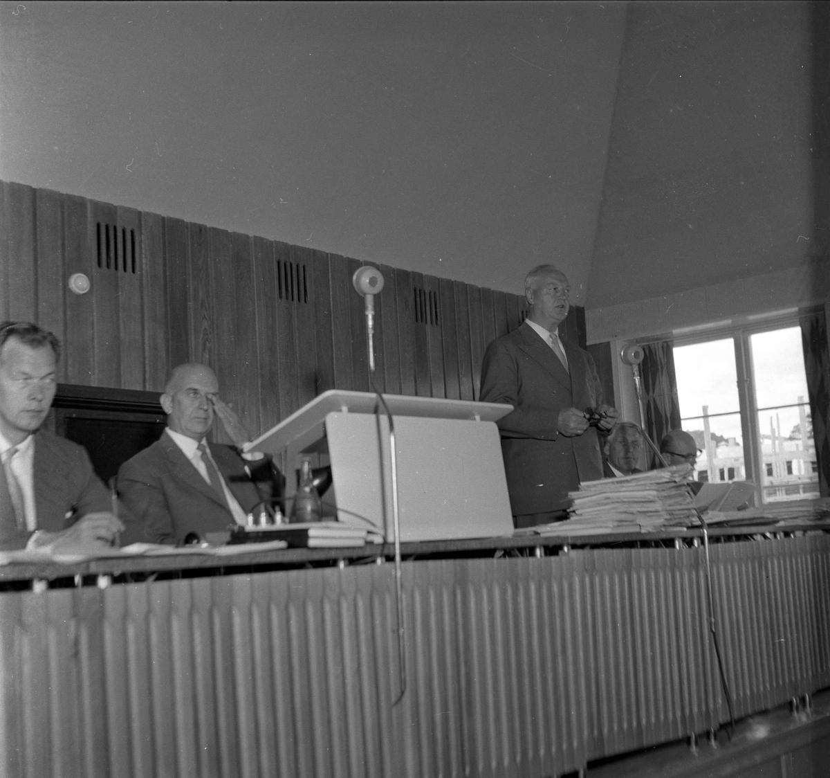 Herredstyre Bærum. 14.06.1959