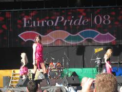 EuroPride 2008 - 25 juli till 3 augusti i Stockholm. Festiva
