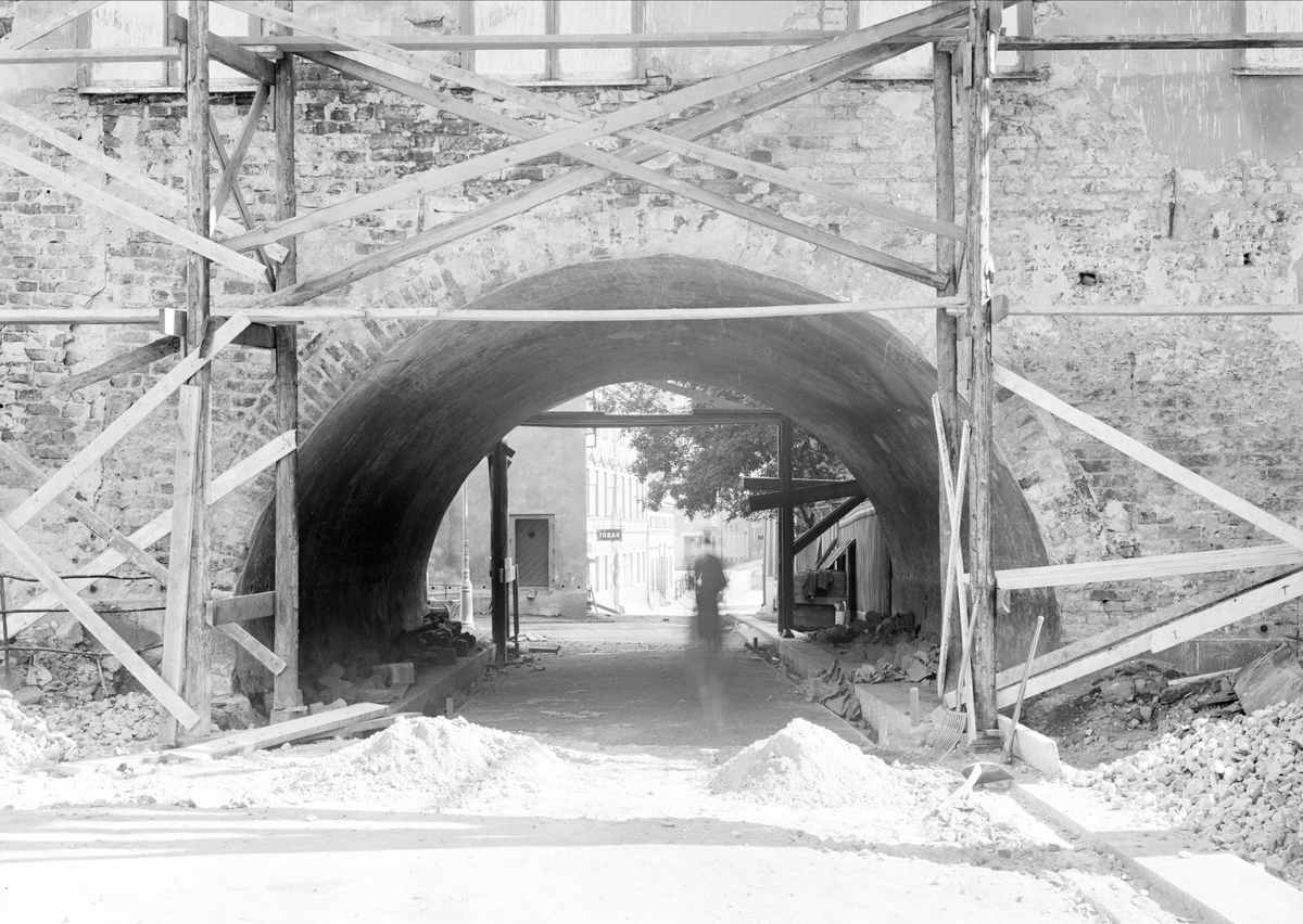 Byggnadshistorisk undersökning av Skytteanum, Valvgatan, kvarteret Domen, Uppsala 1932