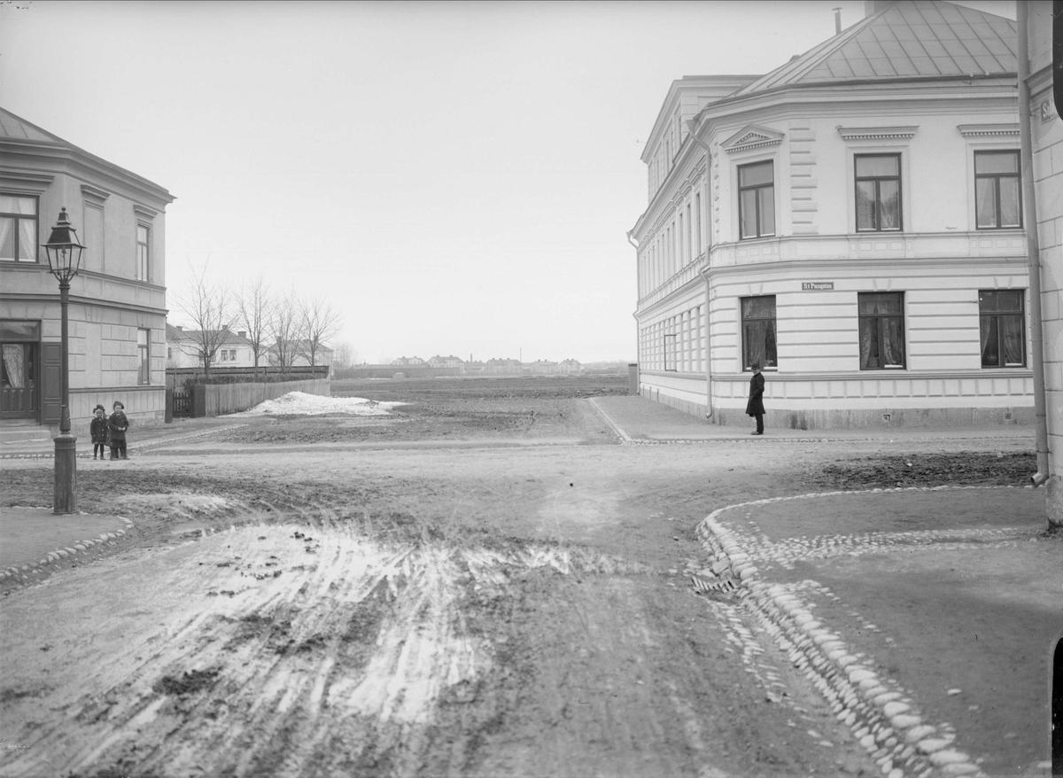 Salagatan - S:t Persgatan, Kvarngärdet, Uppsala 1901 - 1902