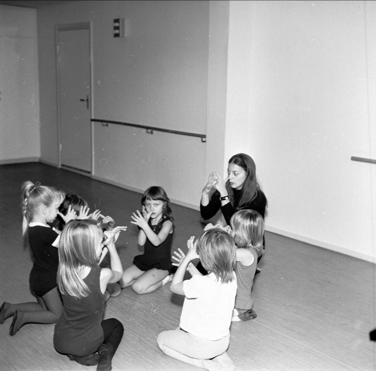 Dansfinal i Tierp, Uppland december 1972