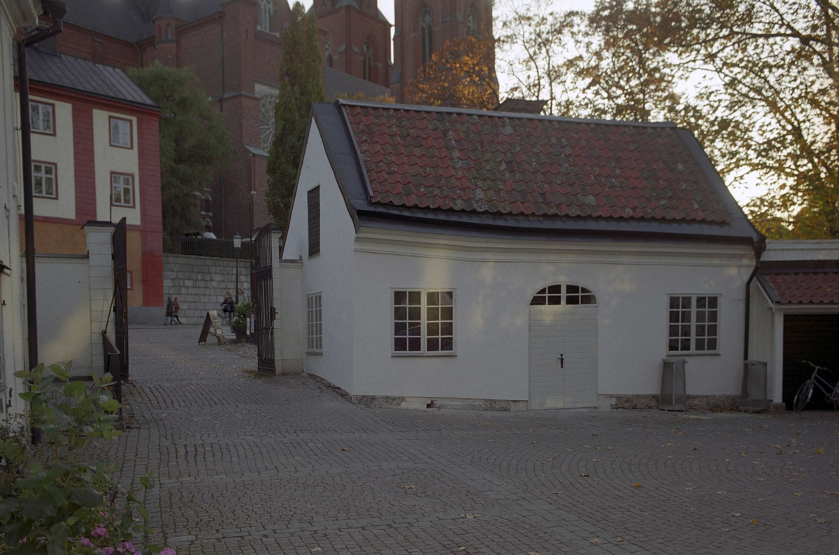 """""""Smedjan"""" på Akademikvarnens gård, kvarteret Holmen, Fjärdingen, Uppsala 1992"""