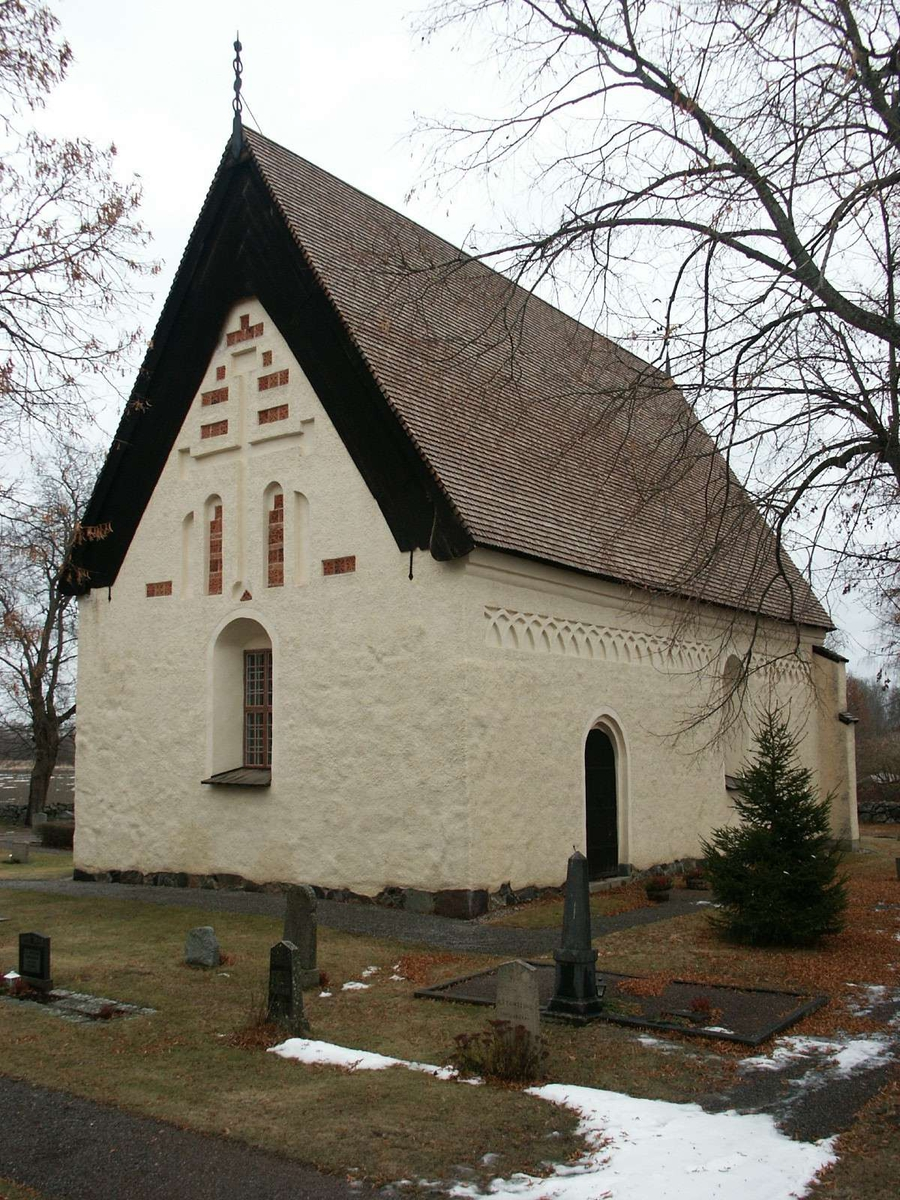 Fittja kyrka, Fittja socken, Uppland januari 2003