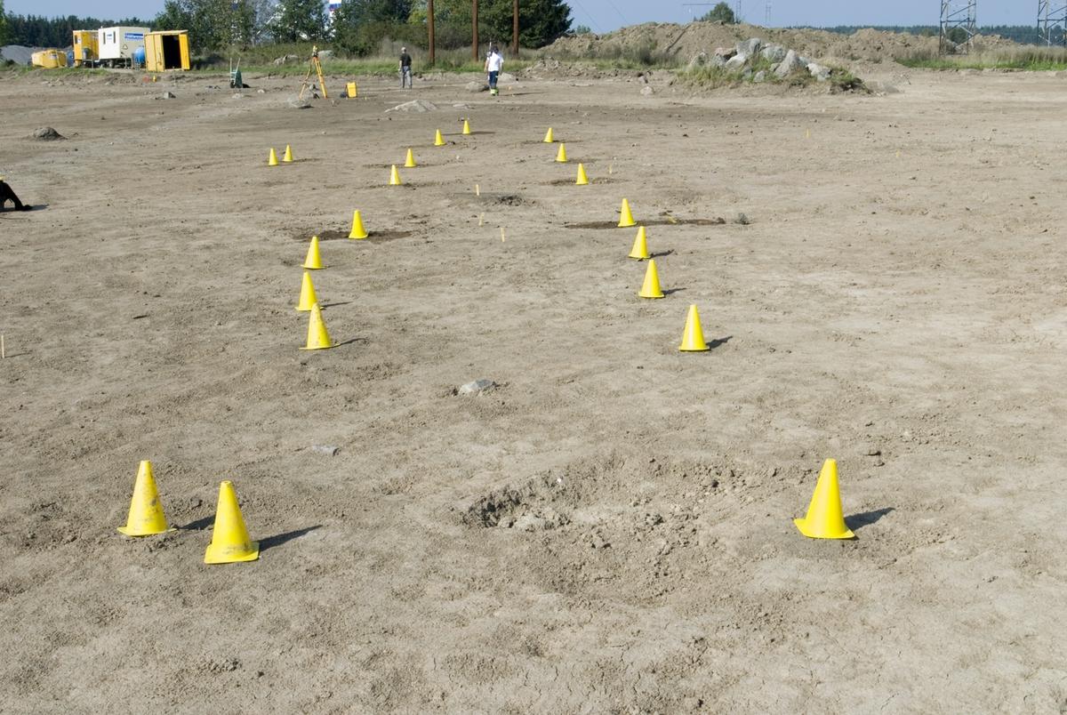 Arkeologisk undersökning, Brillinge, Vaksala socken, Uppland 2006