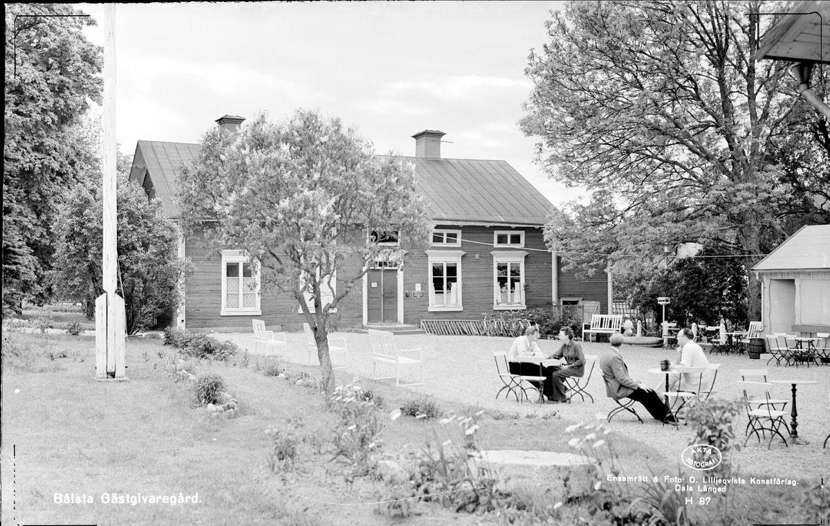 Blsta skola, Yttergran socken, Uppland 1960 - DigitaltMuseum