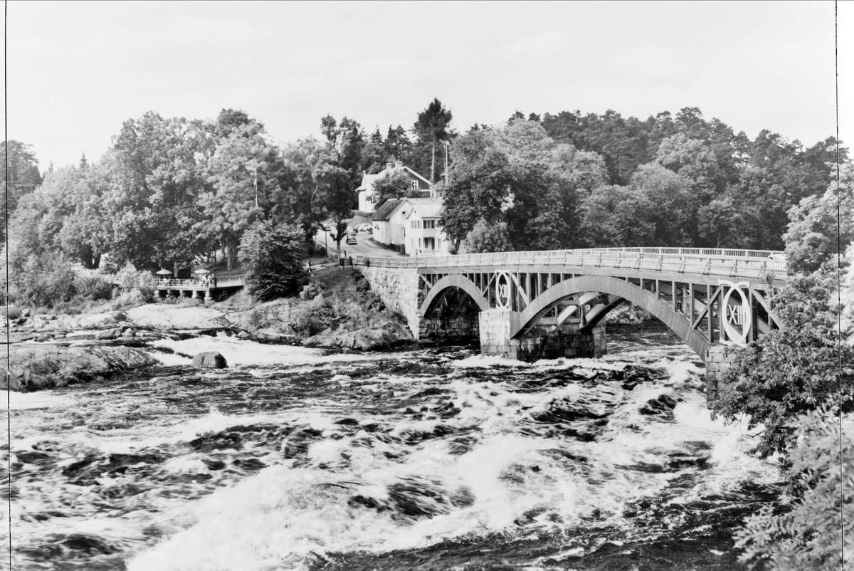 Dalälven och Carl XIII:s bro, Älvkarleby, Uppland