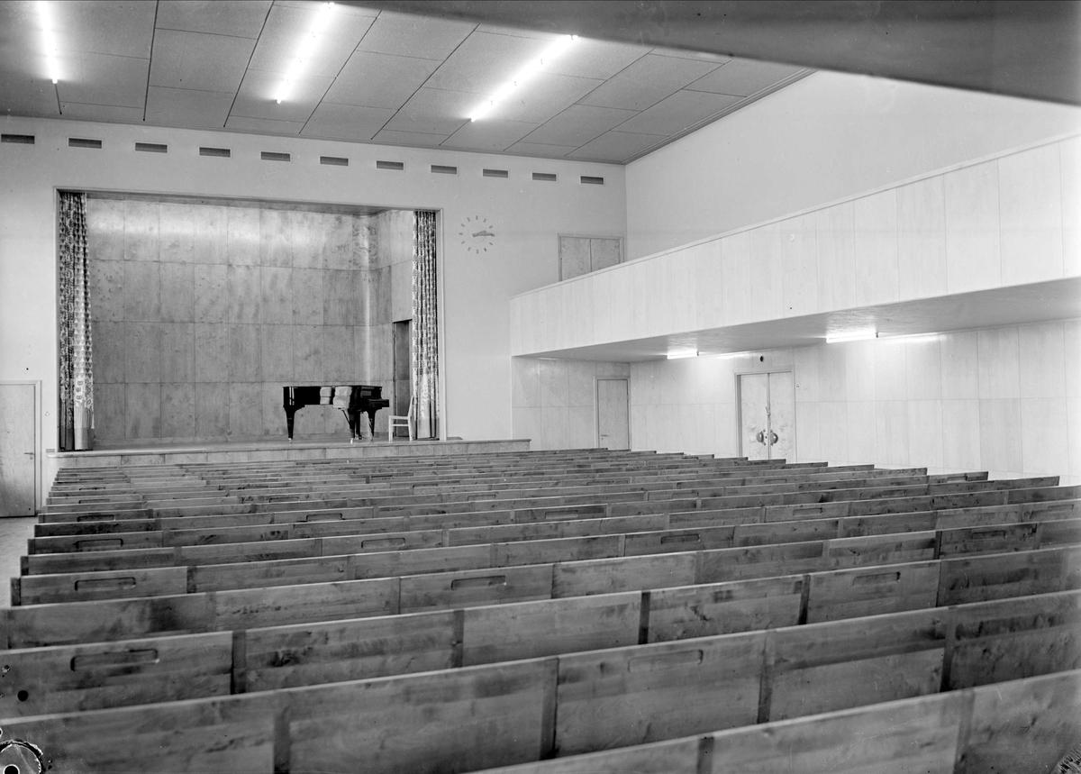 Aula, Praktiska Mellanskolan, kvarteret Luthagsstranden, Uppsala
