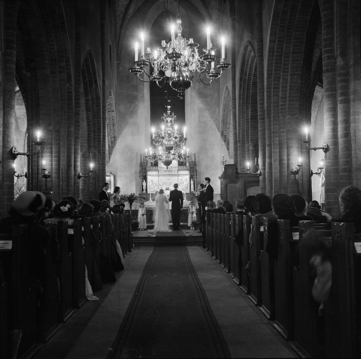 Bröllop i Helga Trefaldighets kyrka, Uppsala