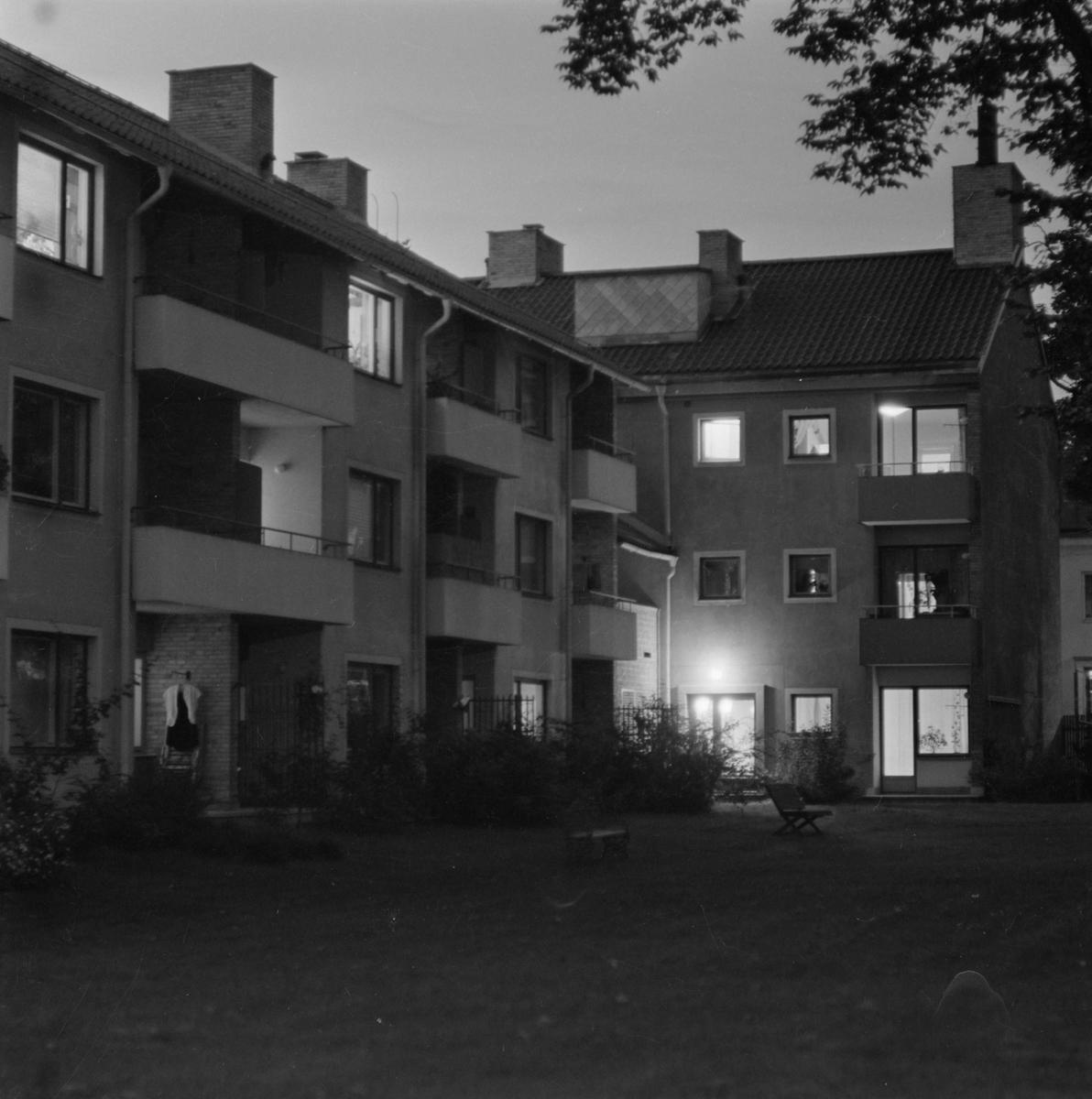Flerfamiljshus, sannolikt Uppsala