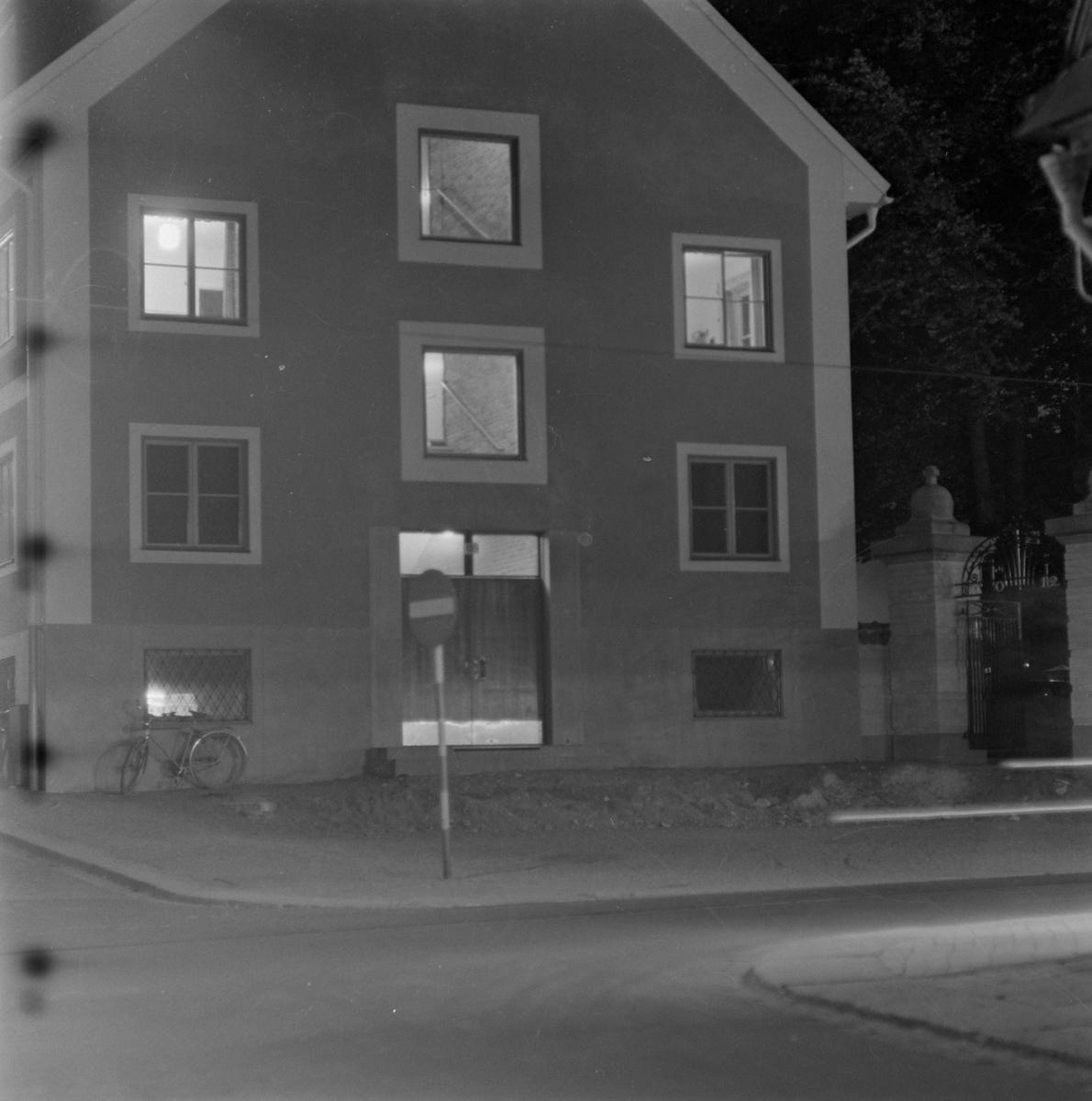 Bostadshus tillhörande Upplands studentnation, S:t Johannesgatan - Sysslomansgatan, kvarteret Luten, Fjärdingen, Uppsala