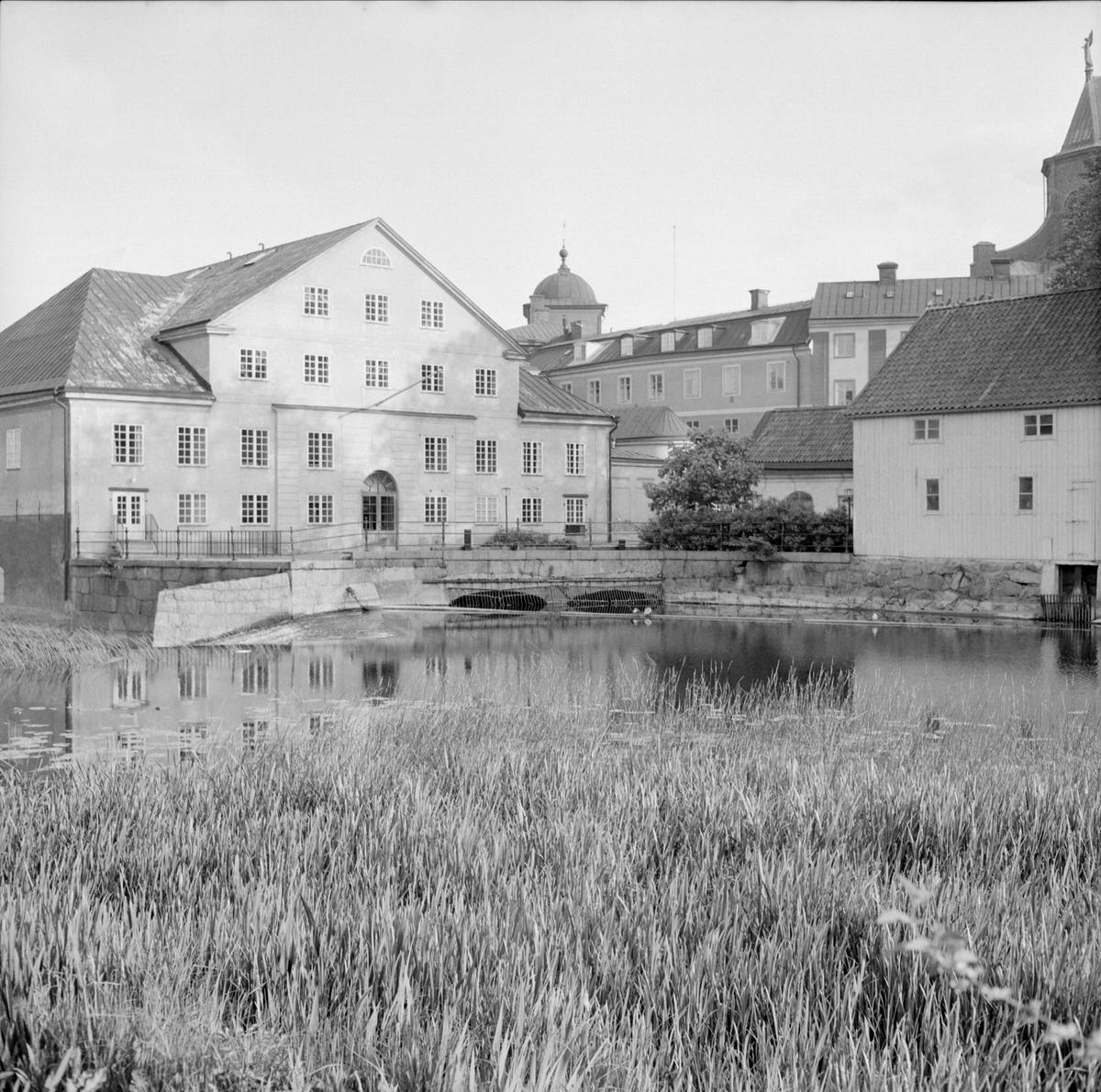 Upplandsmuseet vid Fyrisån, kvarteret Holmen, Fjärdingen, Uppsala