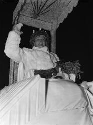 """Upsalas Lucia festligt hyllad"", Uppsala 1939"