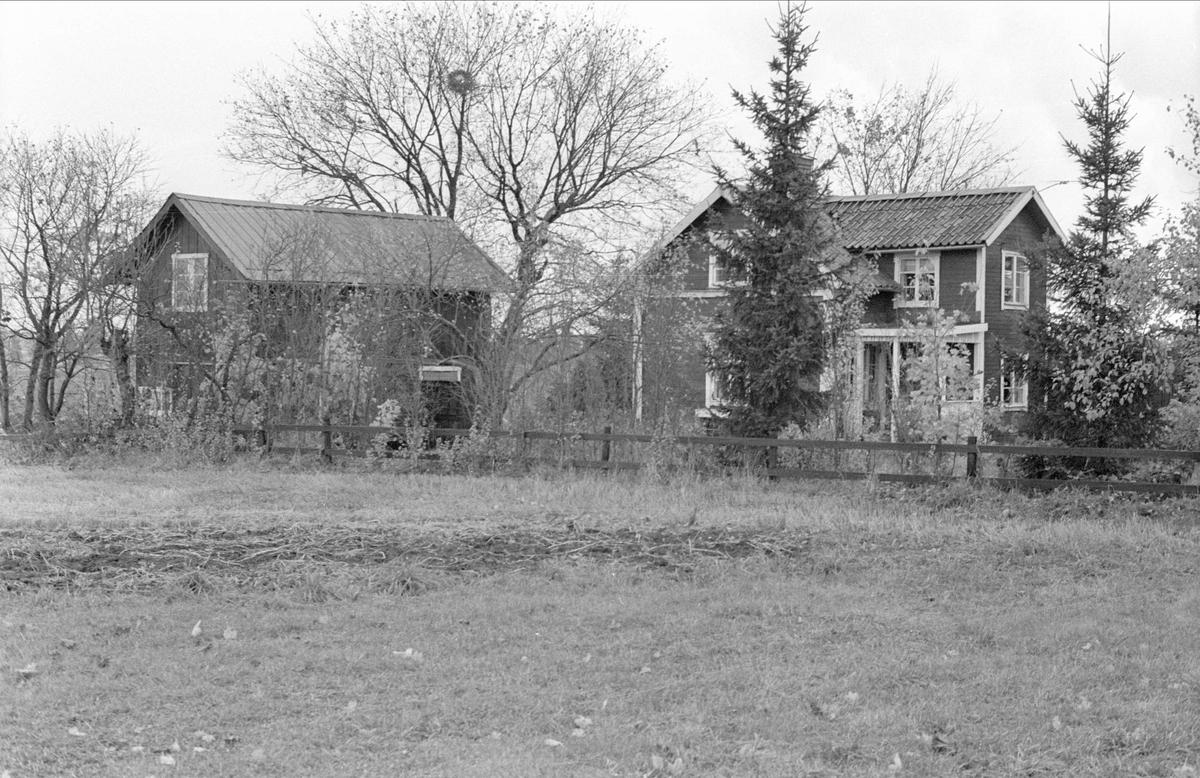 Uthus och bostadshus, Fullerö 21:35, Trekanten, Gamla Uppsala socken, Uppland 1978