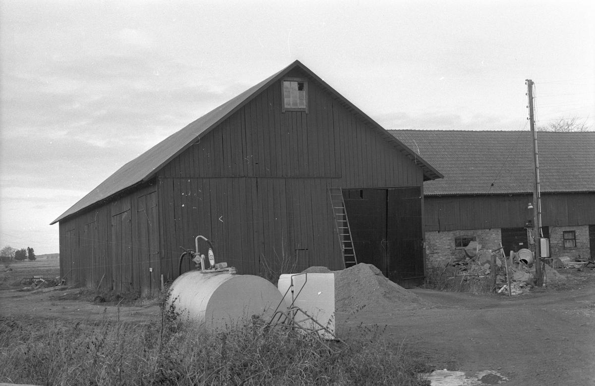Lada, stall och ladugård, Sällinge 1:4 och 1:5, Sällinge, Danmarks socken, Uppland 1978