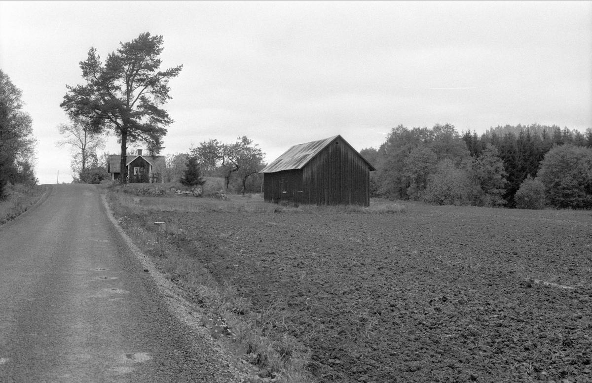 Vy över Sandhagen, Bälinge socken, Uppland 1983