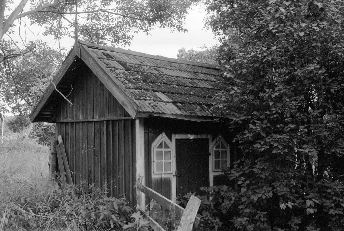 Hönshus, Tynegården, Knutby socken, Uppland 1987