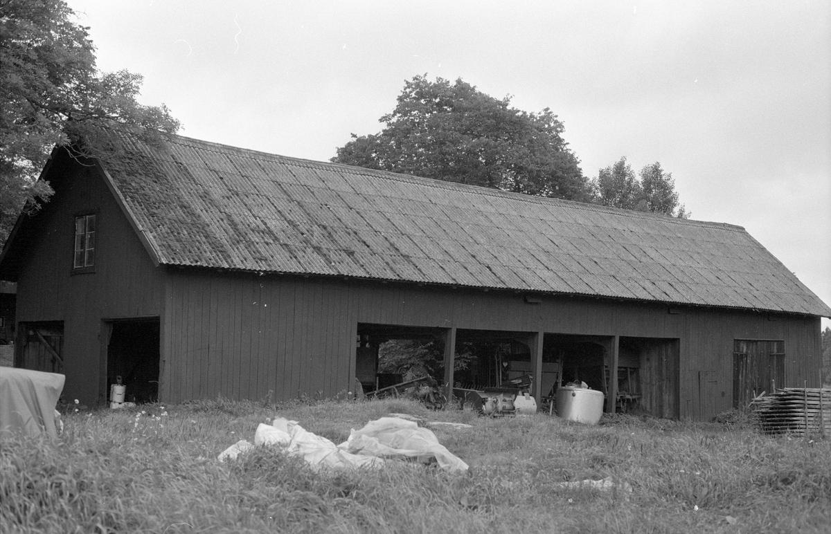 Redskapslider med magasin, Kolsta 4:1, Kolsta, Knutby socken, Uppland 1987