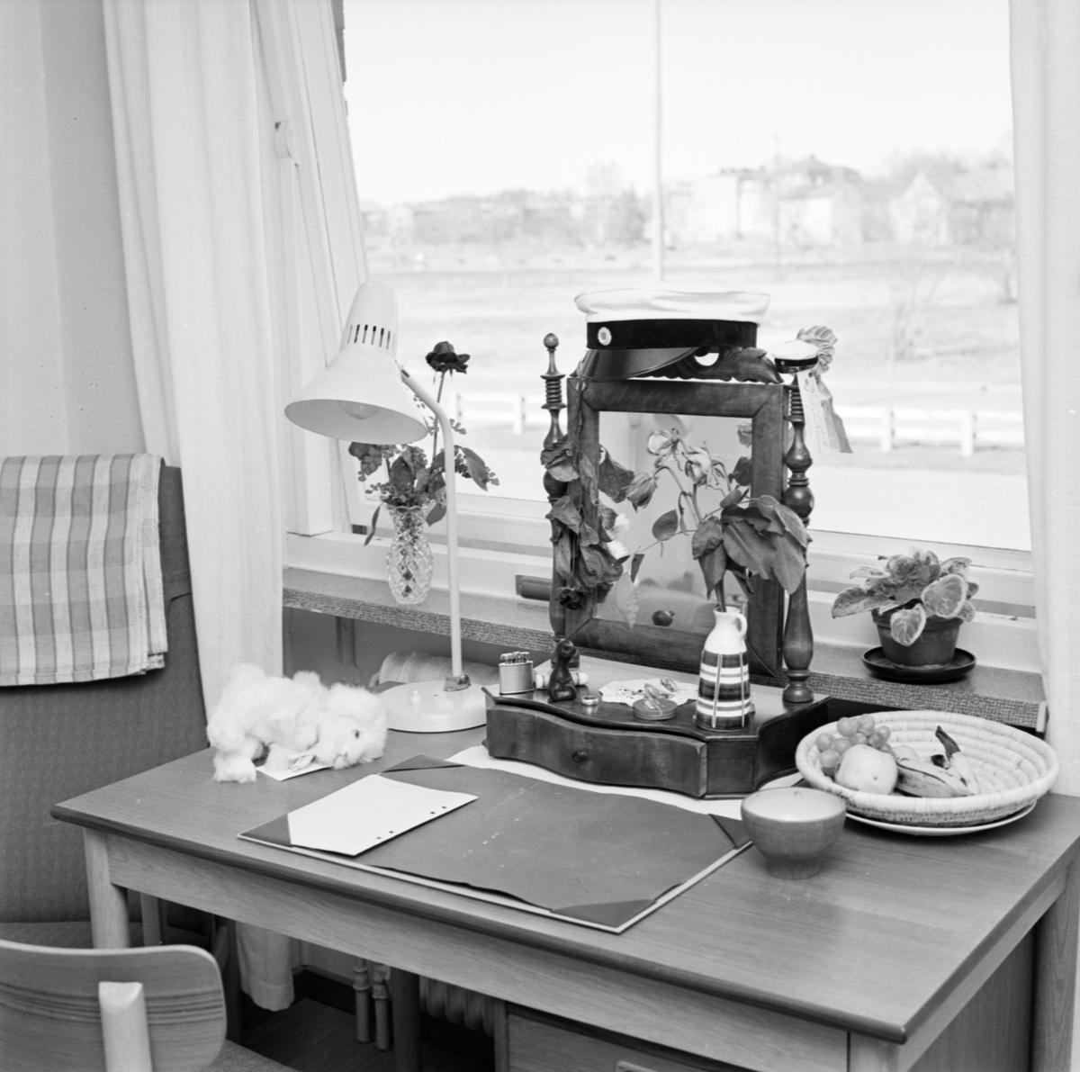 Landstingets elevhem, Uppsala april 1963