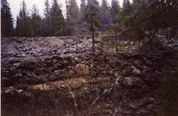 NRK opptak i og utenfor Nyseter gruvene.