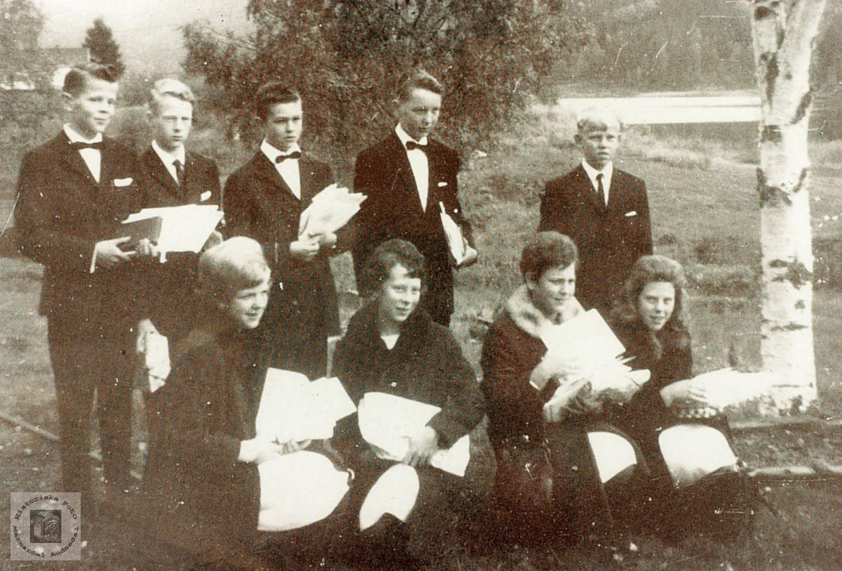 Konfirmanter fra Grindheim.