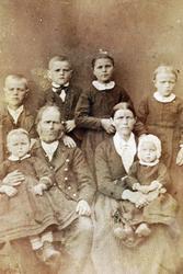Familiebilde Øydna i Audnedal.