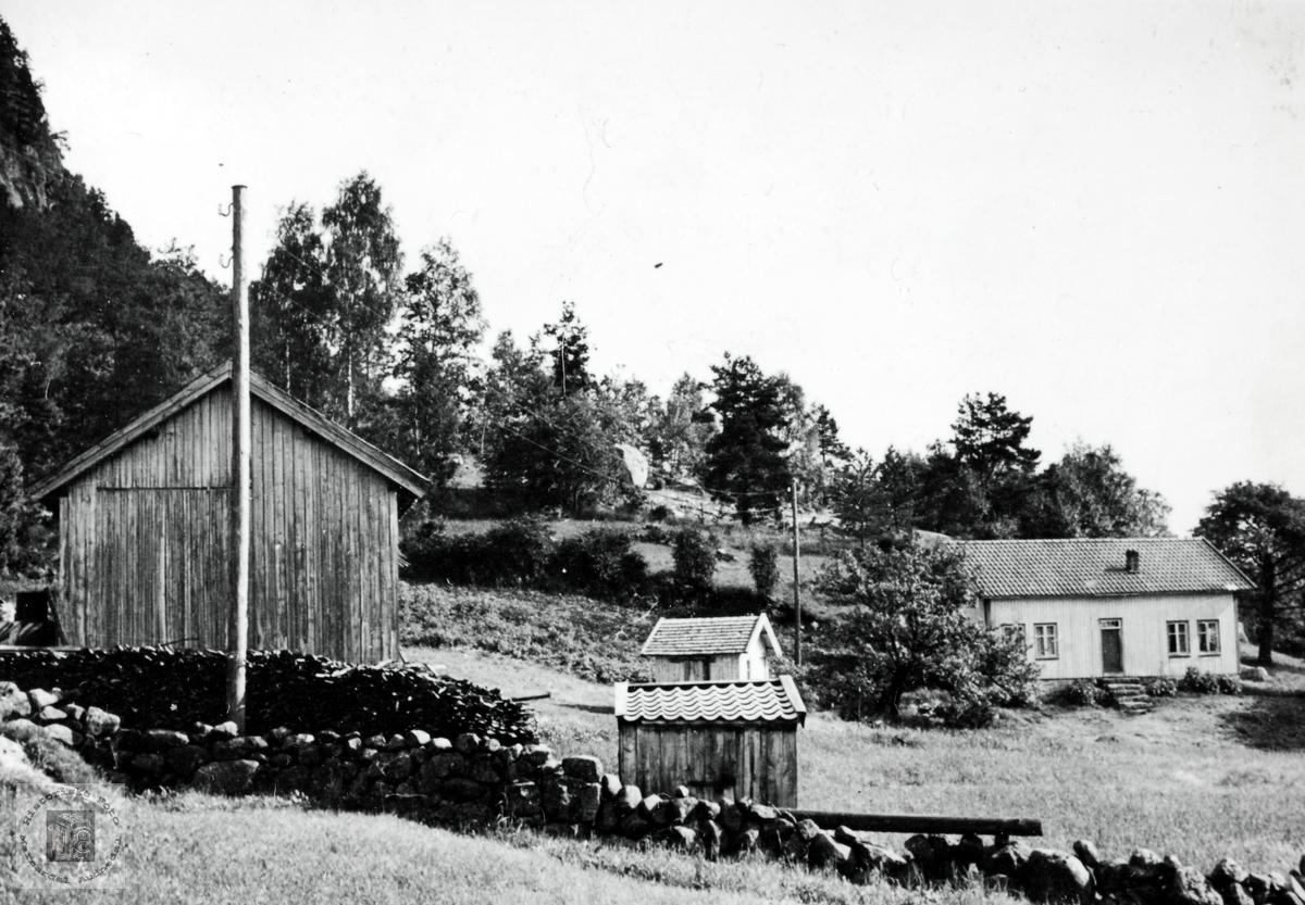 Garden Furubakken på Høyland i Grindheim. Audnedal.