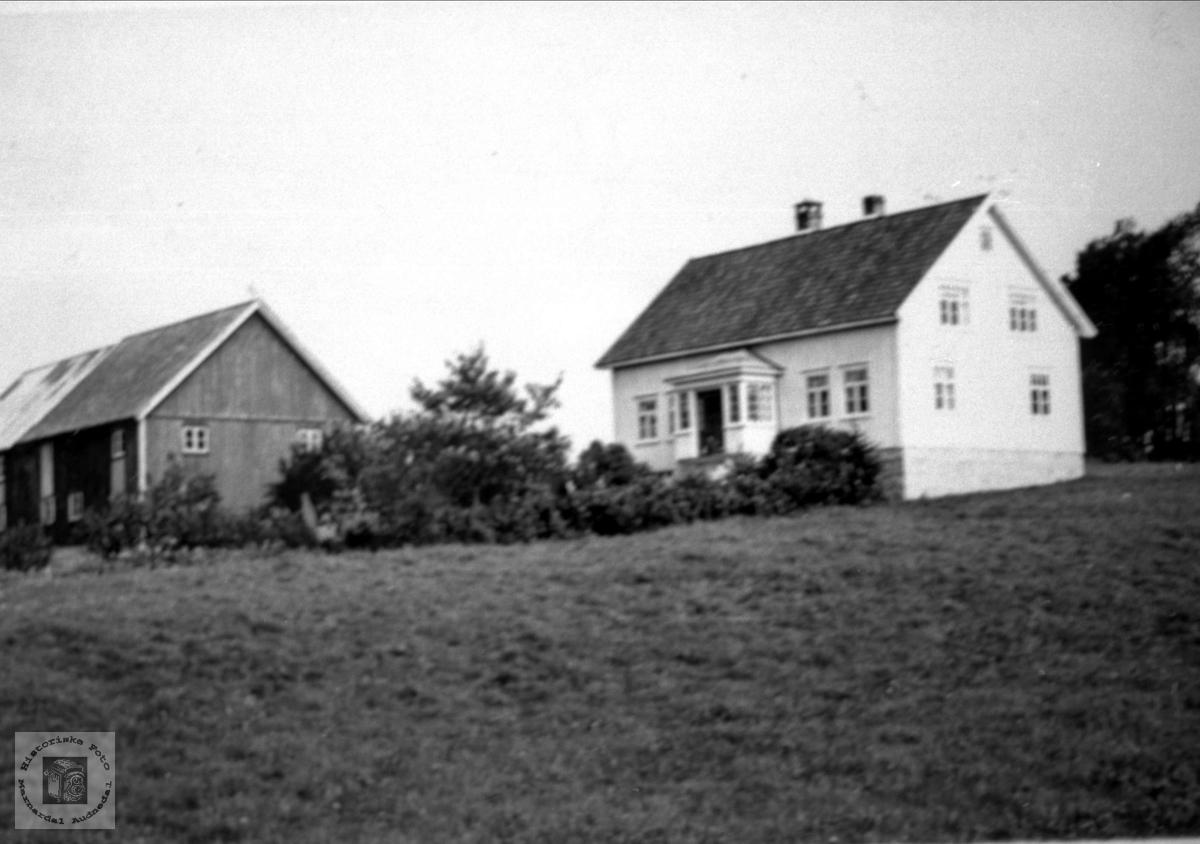 Nedre Abelseth i Bjelland.