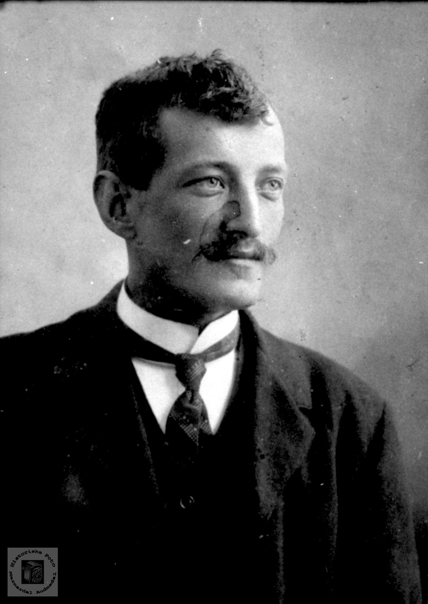 Portrett av Anders Sveinall, Laudal.