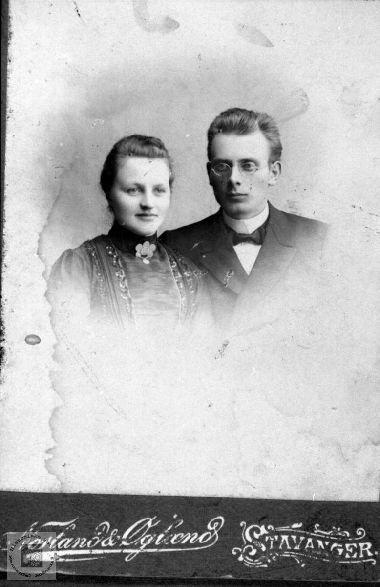 Ekteparet Anne Martha og Tallak Nome