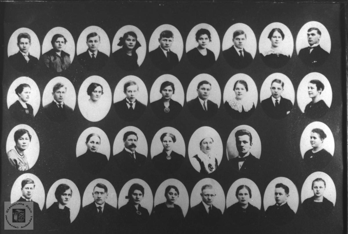 Elever ved Marnar Folkehøgskole 1919-1920