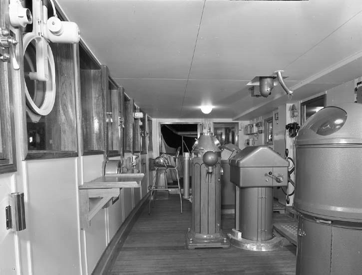 Styrhytt på fartyg nr. 183 M/T Eastern Mariner.