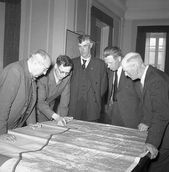 """Enligt notering: """"Fiskarmöte Rådhuset maj 1951""""."""