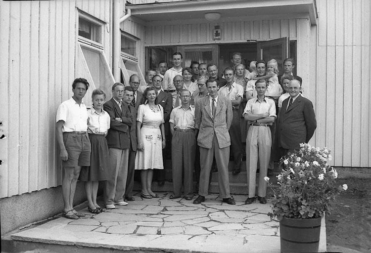 """Enligt notering: """"Akademiker Bohusgården 30/7 1948""""."""