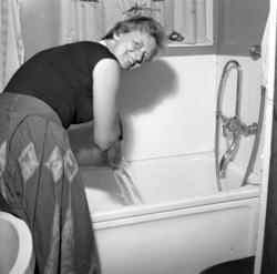Vattenbrist i Uddevalla augusti 1959