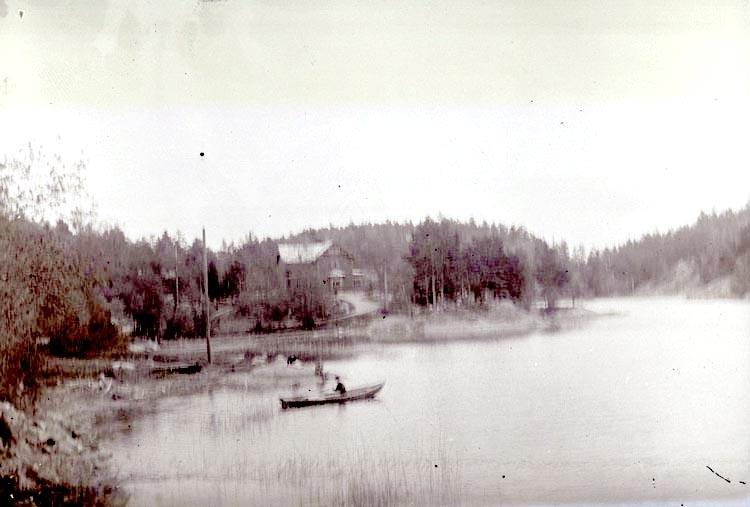Tre vyer från Saltsjöbaden. Maj 1897. ::