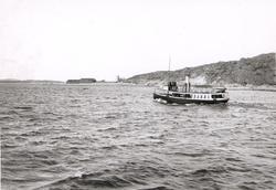 """Noterat på kortet: """"Ångf. Svanen (Elfsborgsfjorden) 23.6.190"""