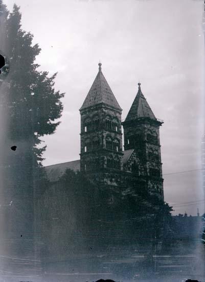 """Enligt text som medföljde bilden: """"Lund, Domkyrkan 2/9 08"""". ::"""