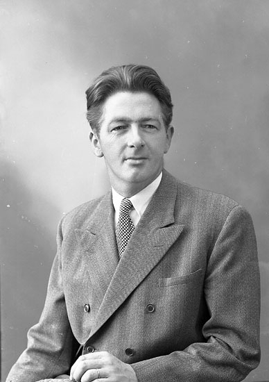 "Enligt fotografens journal nr 8 1951-1957: ""Ekström, Herr Erik Solgården Här""."