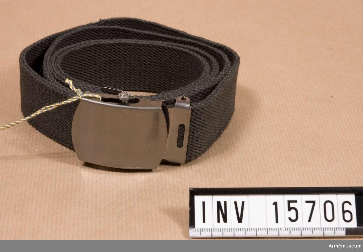 Grupp C I. Byxbälte m/1959. Ingår i uniform m/1959.