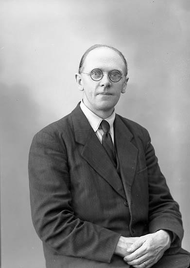 Porträtt av H. Wingård