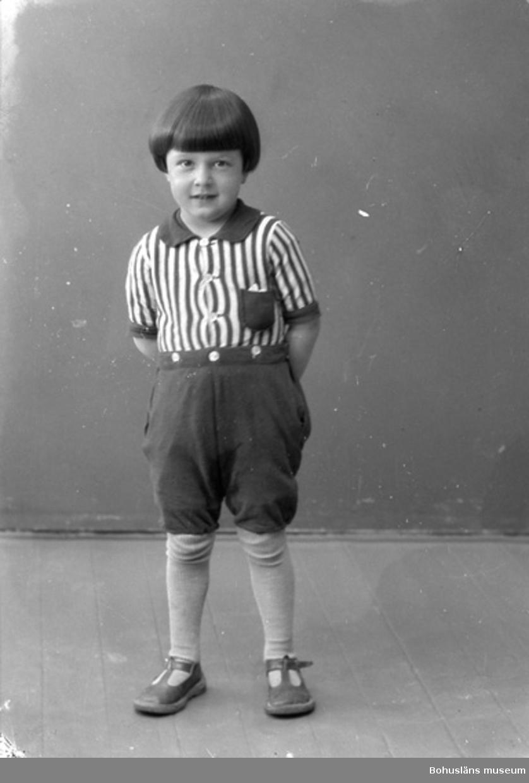"Enligt fotografens journal nr 5 1923-1929: ""Ekelund, Bengt Här""."