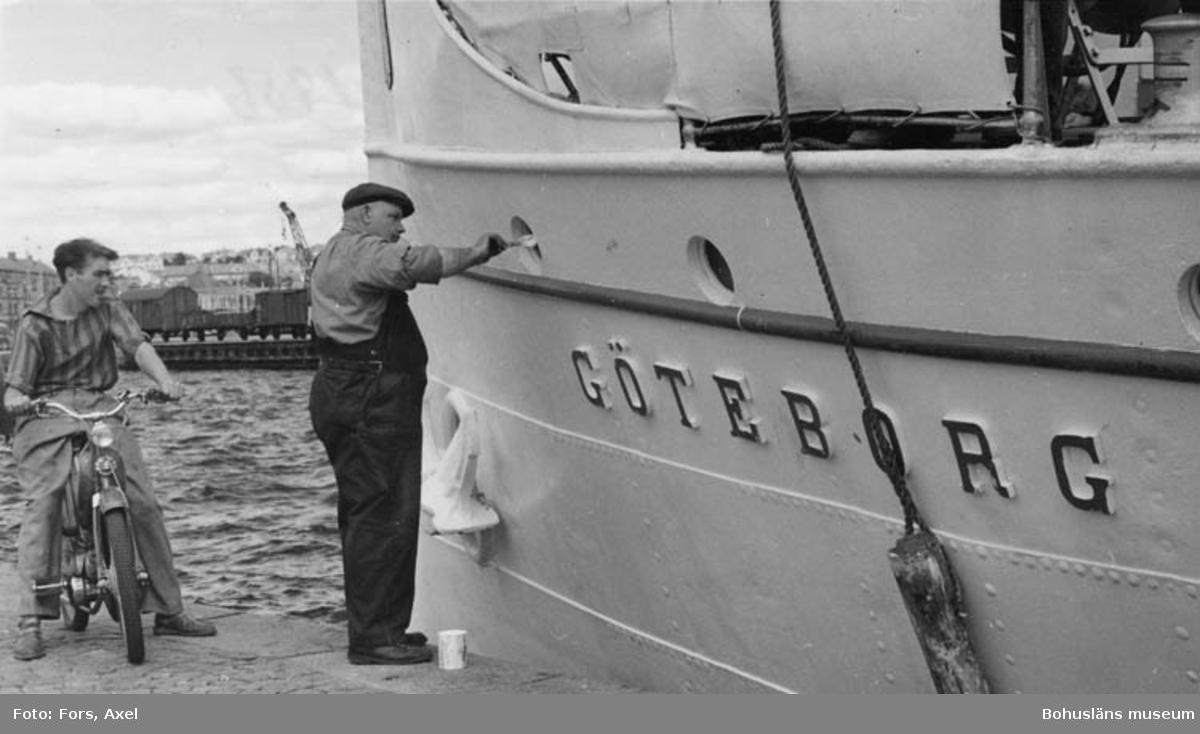 S/S GÖTEBORG i Lysekil 1956