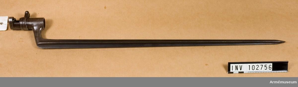 Bajonett m/1867