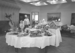 """Hotell Lysekil. Julbord. 1952.12.20"""