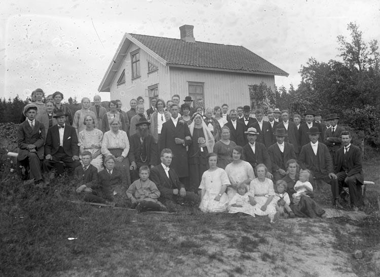 7d0580dc54c3 Bröllop i Hede 1920-talet - Bohusläns museum / DigitaltMuseum