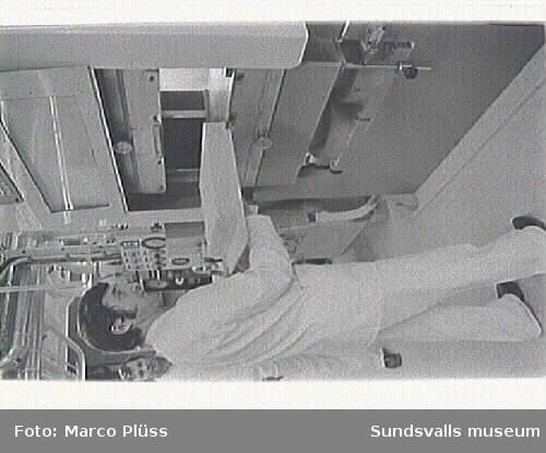 Nedre fabriken Stockviksverken. 06-10 Mepallabb Curt,17 Kalkugn, övre fabriken,19 Verkstad tv. matsal th. 24 här tillverkades Swedopren, efter prof. Swedberg Uppsala. En form av syntetiskt gummi.